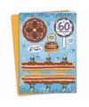 xxl 3d taart kaart 60 jaar