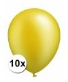 Xxl ballonnen goud 10 stuks