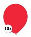 Xxl ballonnen rood 10 stuks