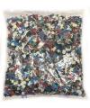 Zakje confetti snippers gekleurd 100 gram