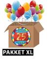 25 jarige feestversiering pakket XL
