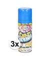 3x blauwe serpentine spray 53 ml