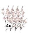 4x roze appelbloesem kunstbloemen tak 84 cm