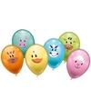 6 dieren ballonnen 28 cm