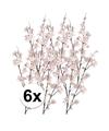 6x roze appelbloesem kunstbloemen tak 84 cm