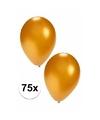 75x gouden ballonnen