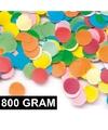800 gram confetti multicolor