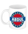 Abdul naam koffie mok beker 300 ml