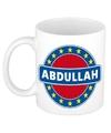 Abdullah naam koffie mok beker 300 ml