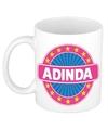 Adinda naam koffie mok beker 300 ml