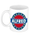 Alfred naam koffie mok beker 300 ml