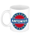 Antonius naam koffie mok beker 300 ml