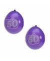 Hoera 50 jaar feest ballonnen