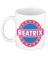 Beatrix naam koffie mok beker 300 ml