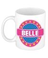 Belle naam koffie mok beker 300 ml