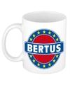 Bertus naam koffie mok beker 300 ml