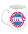 Bettina naam koffie mok beker 300 ml