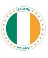 Bierviltjes in Iers thema