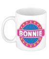 Bonnie naam koffie mok beker 300 ml