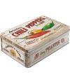 Chili peppers bewaarblik 23 cm