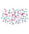 Confetti mix roze blauw groen 15 gram