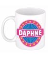 Daphne naam koffie mok beker 300 ml