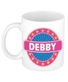 Debby naam koffie mok beker 300 ml