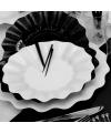 Feestartikelen diepe borden wit
