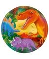 Dinosaurus feest bordjes 8 stuks