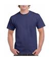 Donker blauwe team shirts voor volwassen