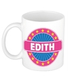 Edith naam koffie mok beker 300 ml