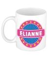 Elianne naam koffie mok beker 300 ml