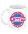 Elizabeth naam koffie mok beker 300 ml