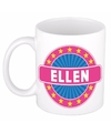 Ellen naam koffie mok beker 300 ml