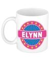 Elynn naam koffie mok beker 300 ml