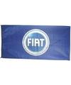 Fiat vlag nieuw logo 150 x 75 cm