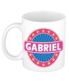 Gabriel naam koffie mok beker 300 ml