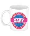 Gaby naam koffie mok beker 300 ml