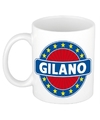 Gilano naam koffie mok beker 300 ml