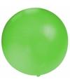 Grote ballon 60 cm groen