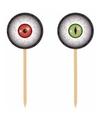 Halloween horror prikkers met oogbollen