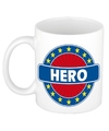 Hero naam koffie mok beker 300 ml