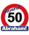 Huldeschilden Abraham 50 jaar