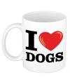 I love dogs honden beker 300 ml