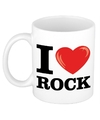 I love rock beker mok 300 ml