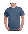 Indigo blauwe team shirts voor volwassen