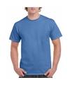 Iris blauwe team shirts voor volwassen