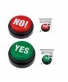 Ja of nee zeggen tegen keuzes gadget cadeau