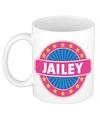 Jailey naam koffie mok beker 300 ml