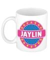 Jaylin naam koffie mok beker 300 ml